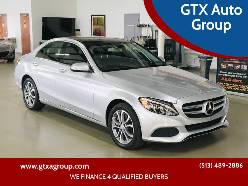 2015 Mercedes-Benz C-Class for sale at GTX Auto Group in West Chester OH