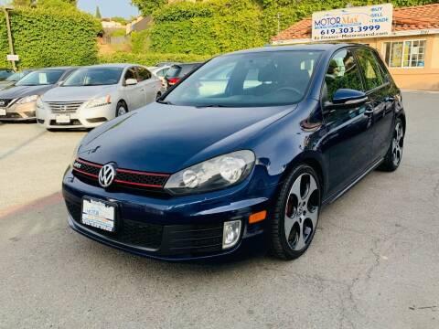 2012 Volkswagen GTI for sale at MotorMax in Lemon Grove CA