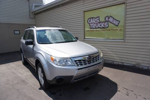 2012 Subaru Forester for sale at Cars Trucks & More in Howell MI