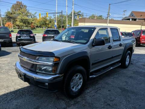 2004 Chevrolet Colorado for sale at Richland Motors in Cleveland OH