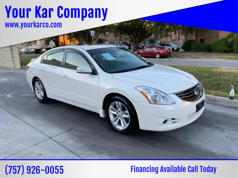 2011 Nissan Altima for sale at Your Kar Company in Norfolk VA