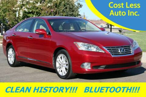 2010 Lexus ES 350 for sale at Cost Less Auto Inc. in Rocklin CA