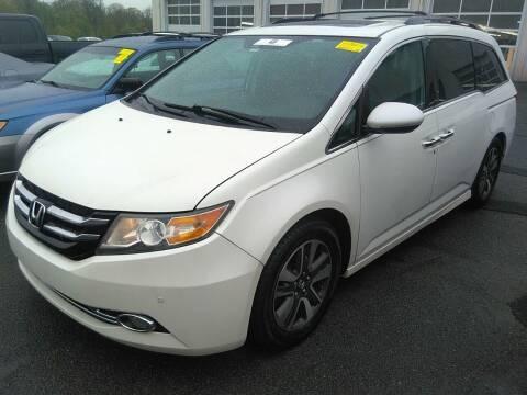 2014 Honda Odyssey for sale at MOUNT EDEN MOTORS INC in Bronx NY