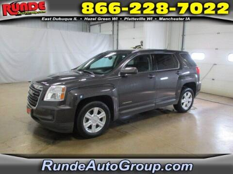 2016 GMC Terrain for sale at Runde Chevrolet in East Dubuque IL