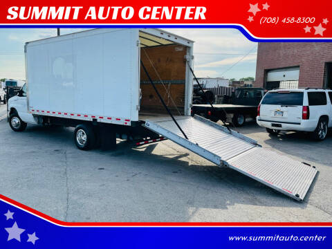 2016 Ford E-Series Chassis for sale at SUMMIT AUTO CENTER in Summit IL