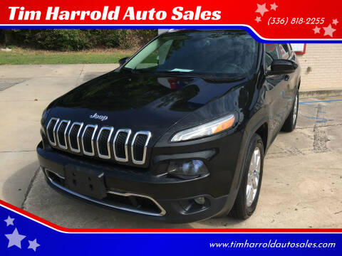 2016 Jeep Cherokee for sale at Tim Harrold Auto Sales in Wilkesboro NC