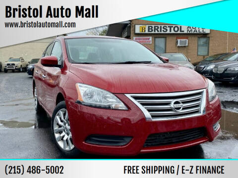 2013 Nissan Sentra for sale at Bristol Auto Mall in Levittown PA