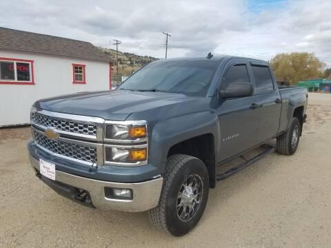 2014 Chevrolet Silverado 1500 for sale at AUTO BROKER CENTER in Lolo MT