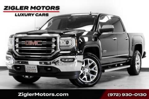 2018 GMC Sierra 1500 for sale at Zigler Motors in Addison TX