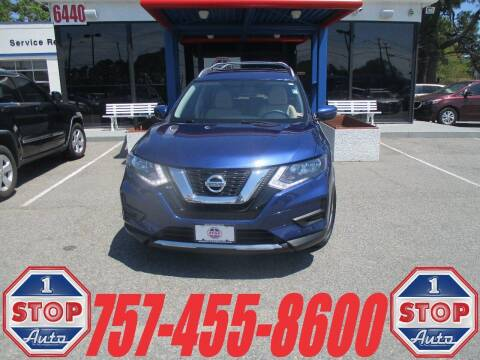 2017 Nissan Rogue for sale at 1 Stop Auto in Norfolk VA