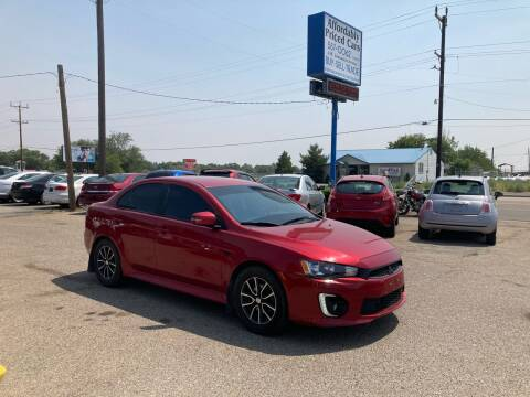 2017 Mitsubishi Lancer for sale at AFFORDABLY PRICED CARS LLC in Mountain Home ID
