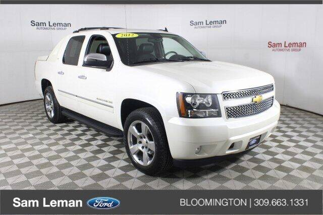 2012 Chevrolet Avalanche for sale in Bloomington, IL