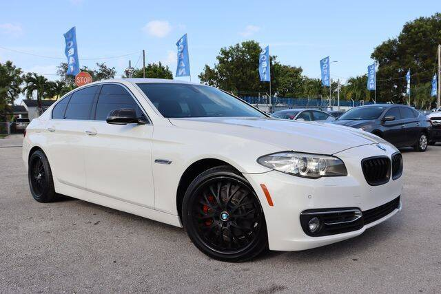 2014 BMW 5 Series for sale at OCEAN AUTO SALES in Miami FL