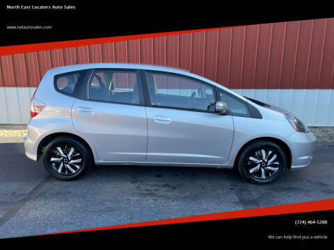 2013 Honda Fit for sale at North East Locaters Auto Sales in Indiana PA
