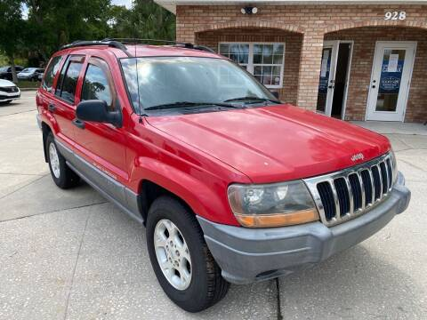 2001 Jeep Grand Cherokee for sale at MITCHELL AUTO ACQUISITION INC. in Edgewater FL