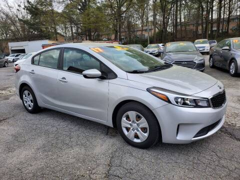 2017 Kia Forte for sale at Import Plus Auto Sales in Norcross GA