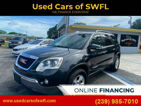 2007 GMC Acadia for sale at Used Cars of SWFL in Fort Myers FL
