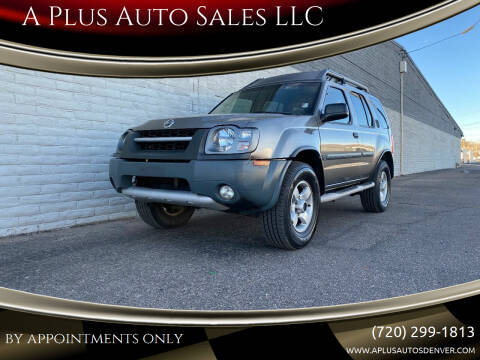 2004 Nissan Xterra for sale at A Plus Auto Sales LLC in Denver CO