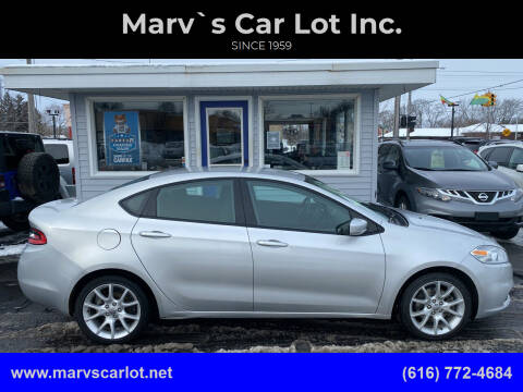 2013 Dodge Dart for sale at Marv`s Car Lot Inc. in Zeeland MI