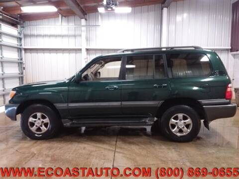2001 Toyota Land Cruiser for sale at East Coast Auto Source Inc. in Bedford VA