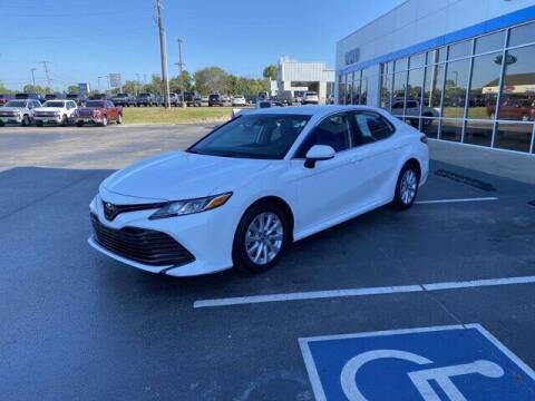 2020 Toyota Camry for sale at DOW AUTOPLEX in Mineola TX