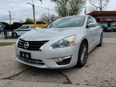 2015 Nissan Altima for sale at Lamarina Auto Sales in Dearborn Heights MI