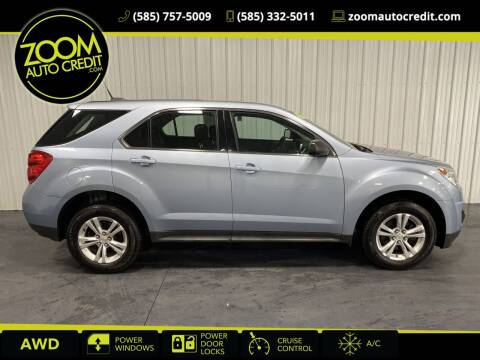 2015 Chevrolet Equinox for sale at ZoomAutoCredit.com in Elba NY
