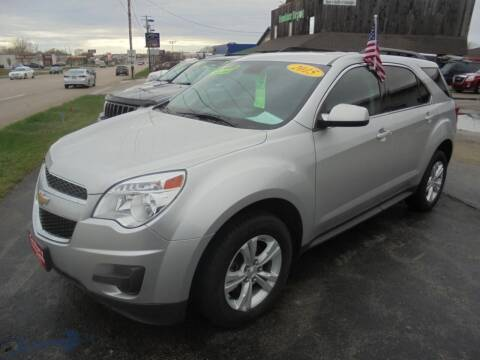 2015 Chevrolet Equinox for sale at Century Auto Sales LLC in Appleton WI