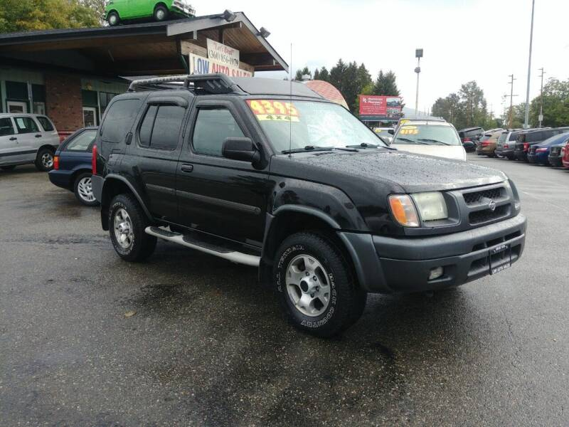 2001 Nissan Xterra for sale at Low Auto Sales in Sedro Woolley WA