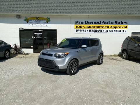 2015 Kia Soul for sale at Klett Automotive Group in Saint Augustine FL