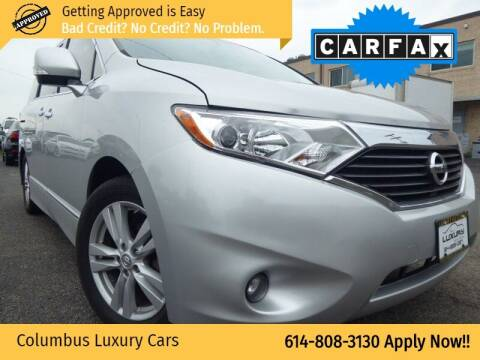 2013 Nissan Quest for sale at Columbus Luxury Cars in Columbus OH