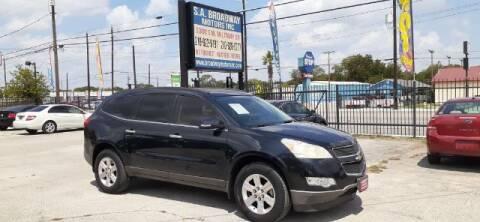 2011 Chevrolet Traverse for sale at S.A. BROADWAY MOTORS INC in San Antonio TX