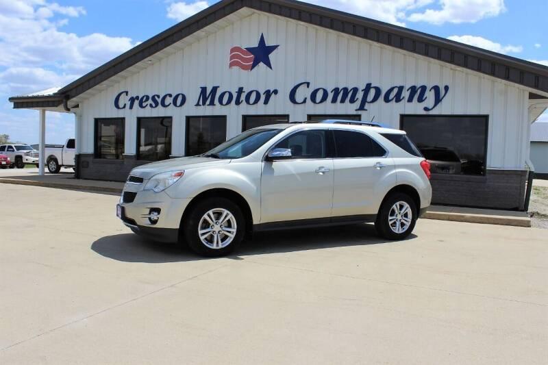 2013 Chevrolet Equinox for sale at Cresco Motor Company in Cresco IA