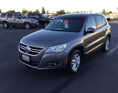 2011 Volkswagen Tiguan for sale at My Three Sons Auto Sales in Sacramento CA