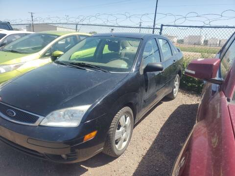 2005 Ford Focus for sale at PYRAMID MOTORS - Fountain Lot in Fountain CO