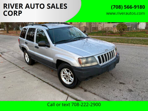 2004 Jeep Grand Cherokee for sale at RIVER AUTO SALES CORP in Maywood IL