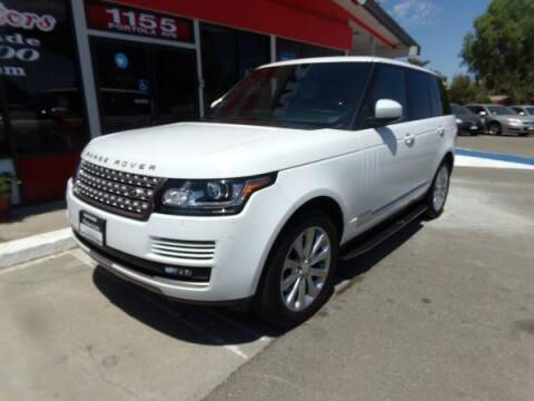 2015 Land Rover Range Rover for sale at Phantom Motors in Livermore CA