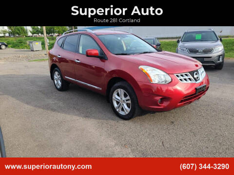 2012 Nissan Rogue for sale at Superior Auto in Cortland NY