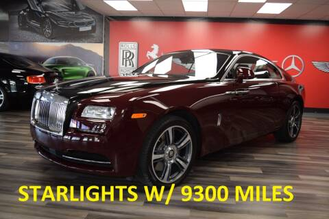 2014 Rolls-Royce Wraith for sale at Icon Exotics in Houston TX