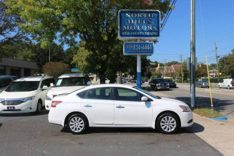 2015 Nissan Sentra for sale at North Hills Motors in Raleigh NC