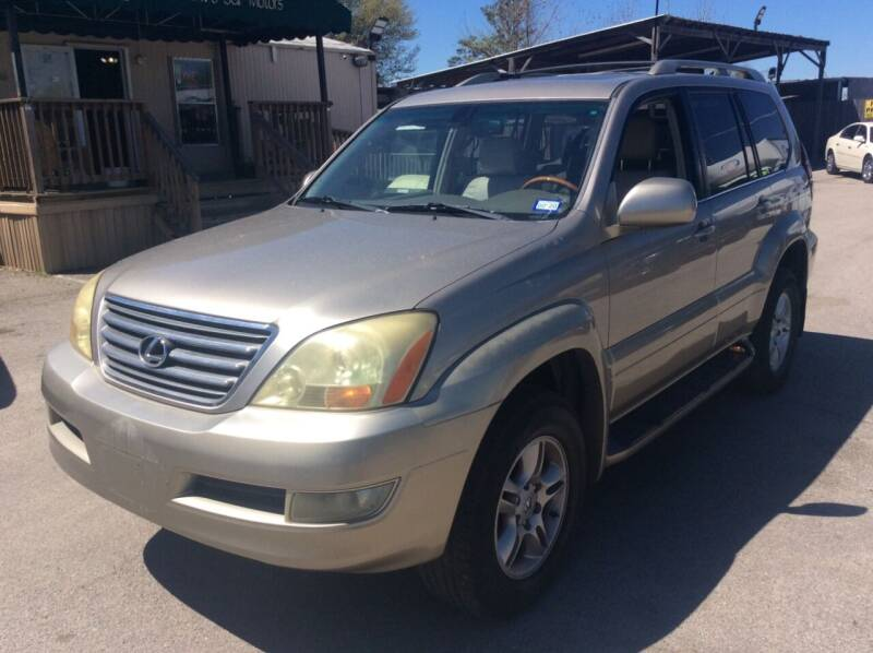 2003 Lexus GX 470 for sale at OASIS PARK & SELL in Spring TX