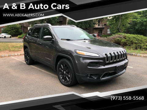 2015 Jeep Cherokee for sale at A & B Auto Cars in Newark NJ