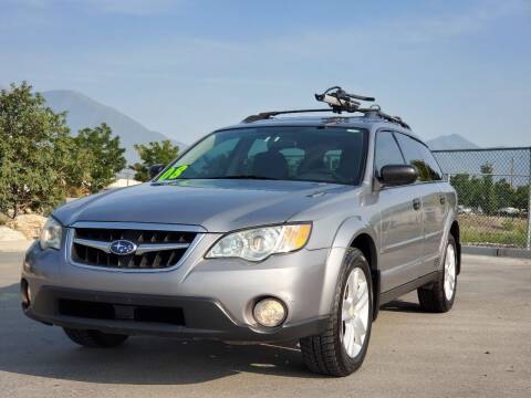 2008 Subaru Outback for sale at FRESH TREAD AUTO LLC in Springville UT