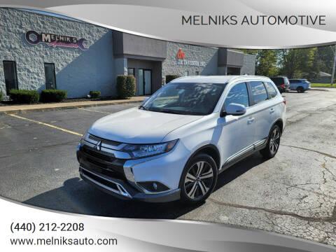 2020 Mitsubishi Outlander for sale at Melniks Automotive in Berea OH