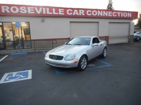 1999 Mercedes-Benz SLK for sale at ROSEVILLE CAR CONNECTION in Roseville CA
