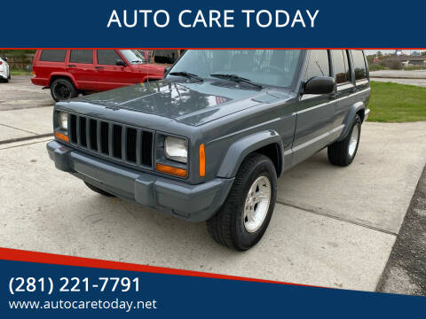 2001 Jeep Cherokee for sale at AUTO CARE TODAY in Spring TX