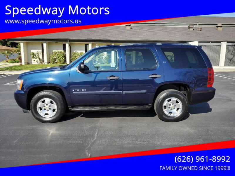 2008 Chevrolet Tahoe for sale at Speedway Motors in Glendora CA