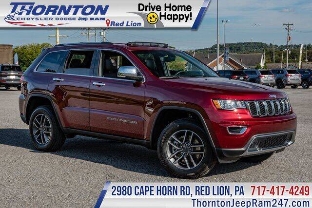 2021 Jeep Grand Cherokee for sale in Red Lion, PA