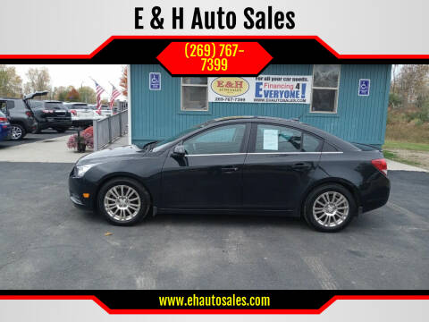 2013 Chevrolet Cruze for sale at E & H Auto Sales in South Haven MI
