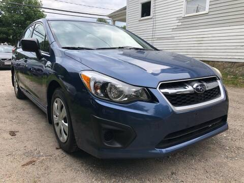 2012 Subaru Impreza for sale at Specialty Auto Inc in Hanson MA